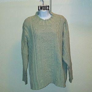 Carly Blake's Mint Green Sweater Size Large